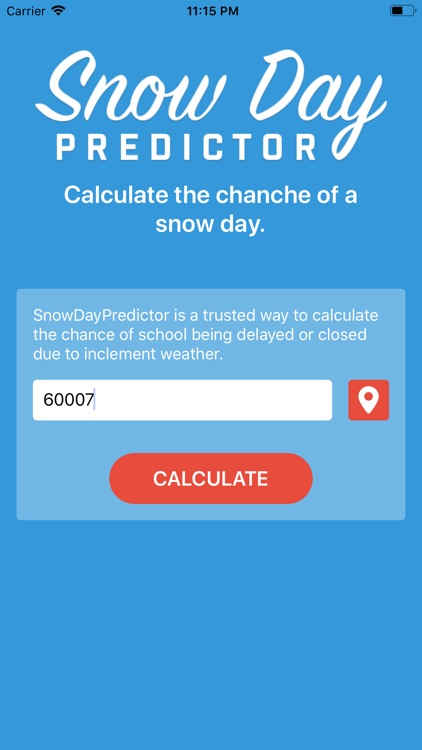 Snow Day Predictor - School