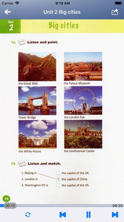 外研社剑桥小学英语 JOIN IN 六年级上下册