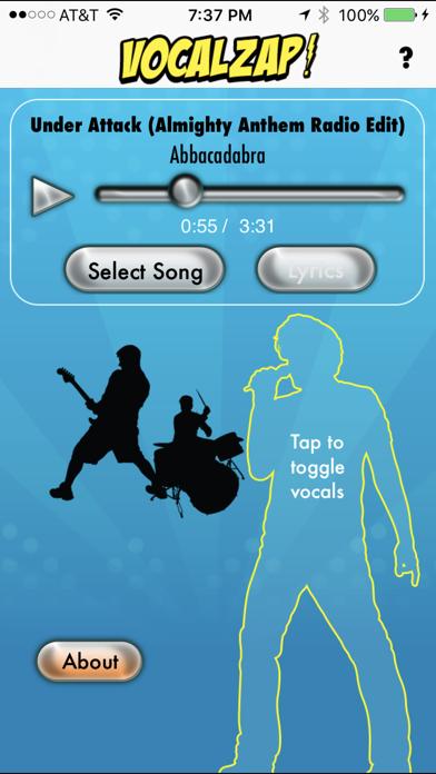 VocalZap screenshot one