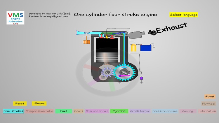 VMS - Engine Animation Lite screenshot-3