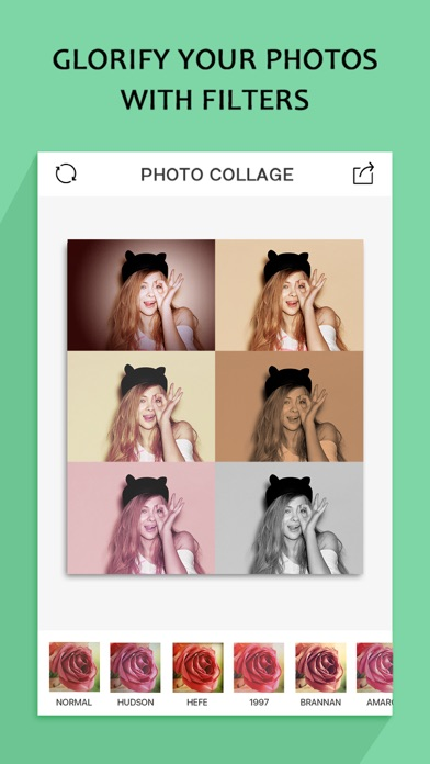 Screenshot for Photo Collage Pro(Pic-Frame Editor & Magic Effect) in Austria App Store