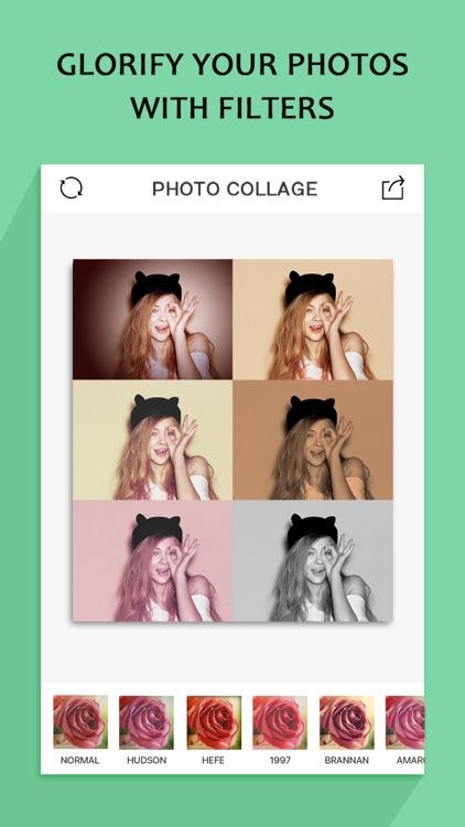 Photo Collage Pro(Pic-Frame Editor & Magic Effect) screenshot-4