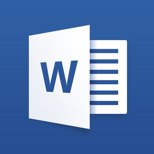 Microsoft Word app logo