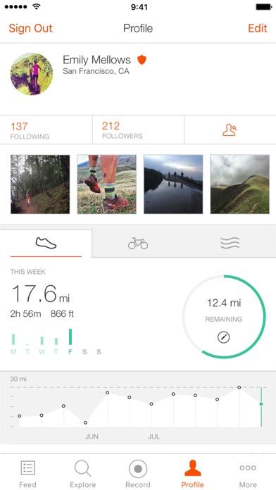 Strava Running and Cycling GPS app image