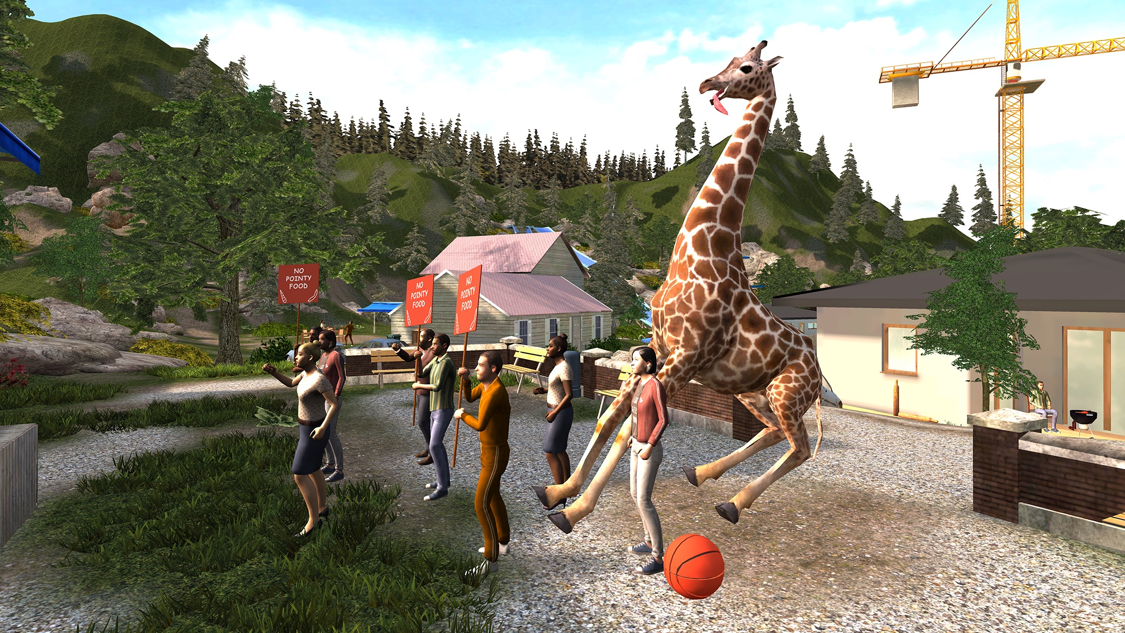 Screenshot do app Goat Simulator