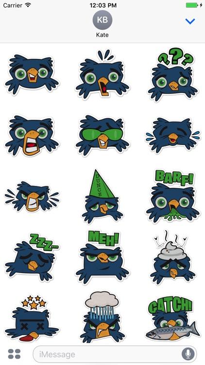 Hawks Head Sticker Pack