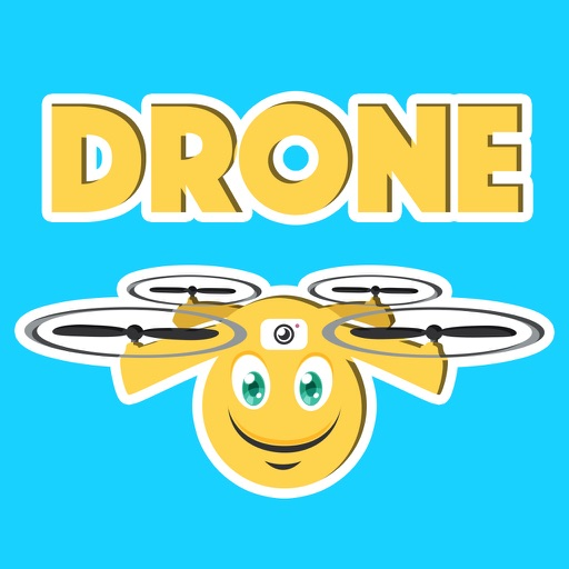 DRONEMOJI - Drone Emojis - Stickers For Drones