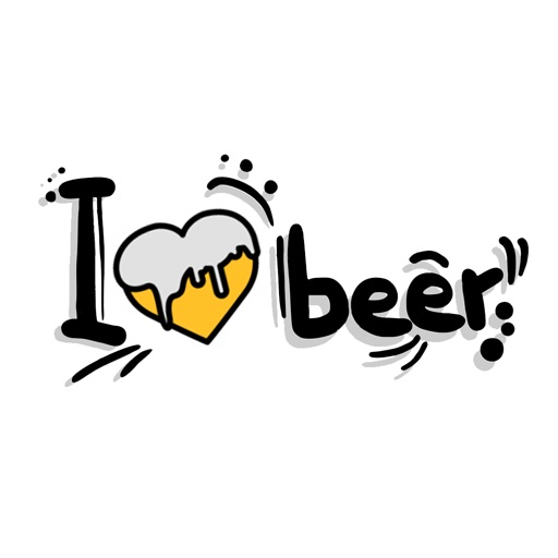 Funny Beer Quotes Stickers For iMessage by BHADRIK MEHTA