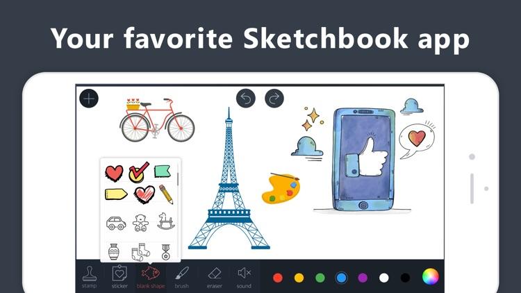 Drawing Pad - Doodle Paint, Draw Art, Sketch.book screenshot-4