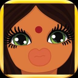 Indian Girl Emoji Stickers