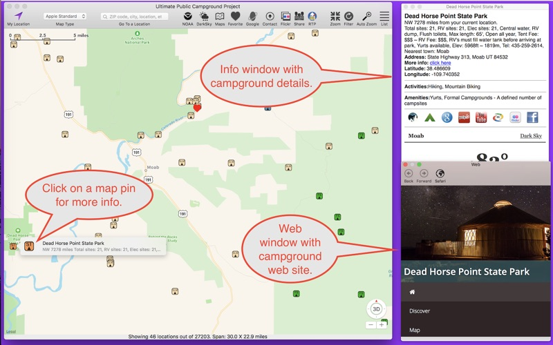 Ultimate Campground Project Screenshot