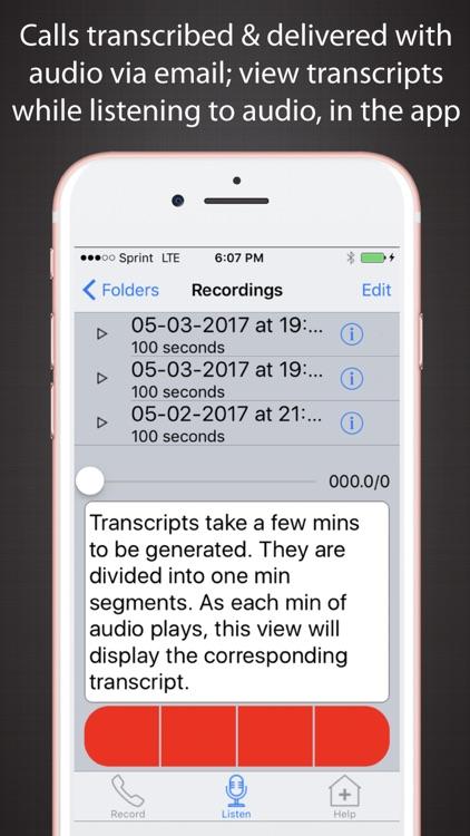 Call Recording Plus Transcripts screenshot-0