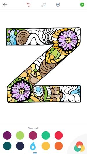 Alphabet Malvorlagen im App Store