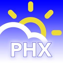 PHXwx Phoenix, AZ weather forecast traffic radar
