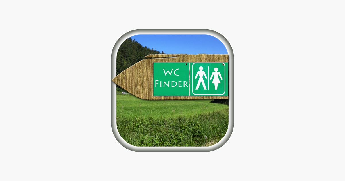 Wc finder the free woldwide toilet search engine on the for Best bathroom finder app