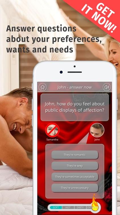 Adult Couple Game: Erotic Quiz