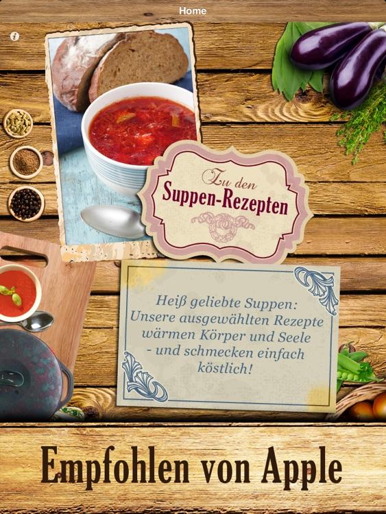 Suppenküche - Heiß geliebte Suppen und Eintöpfe screenshot-3