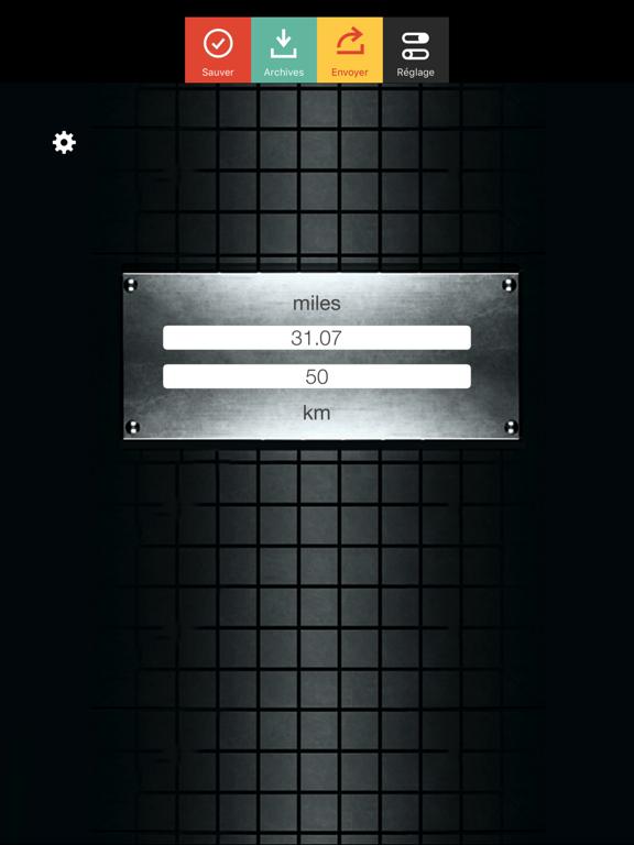Screenshot #4 pour Miles Km