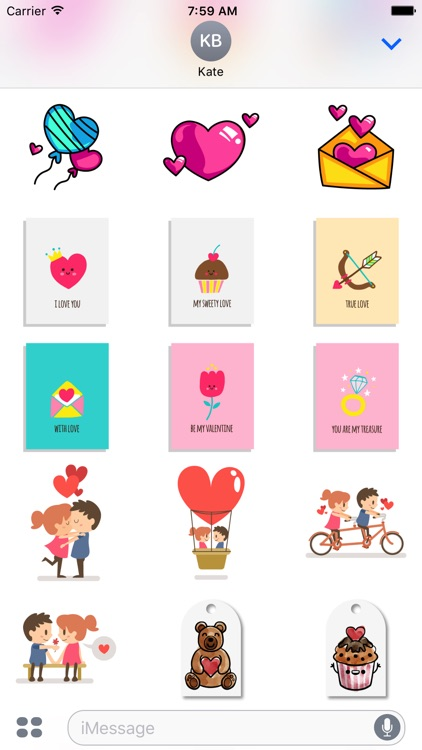 Valentine's Day & Love Stickers
