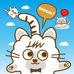 Nekomo&Friend Moving Sticker