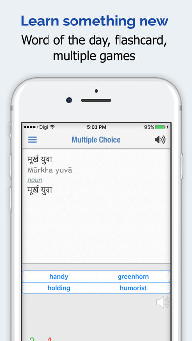 Hindi Dictionary Elite review screenshots