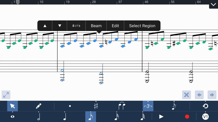 Symphony for iPhone - Composition & Notation