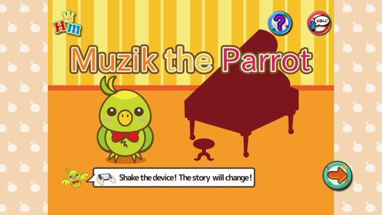 Shuffle Picture Book Muzik the Parrot