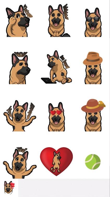 ShepherdMoji - German Shepherd Emoji & Sticker