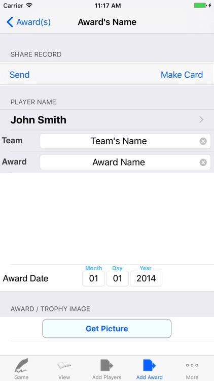 Basketball Player Game Stats Tracker screenshot-3