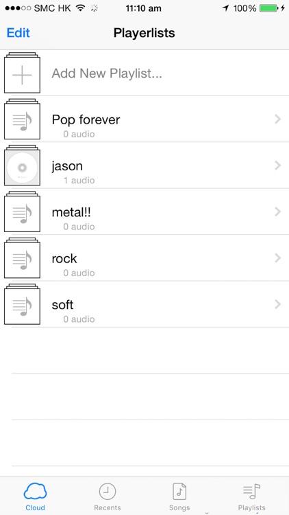 MusiCloud - Music File Manager screenshot-4