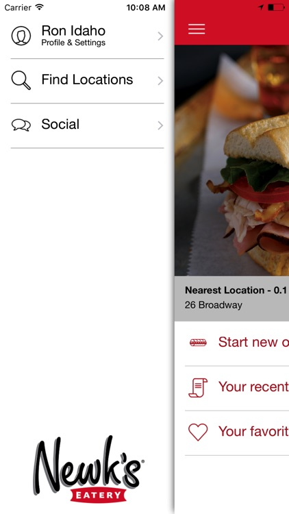 Newk's Eatery Ordering screenshot-0
