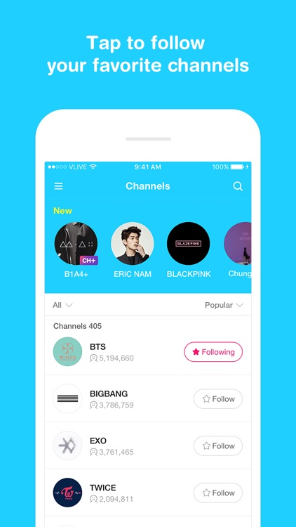 V LIVE - Broadcasting App screenshot-0