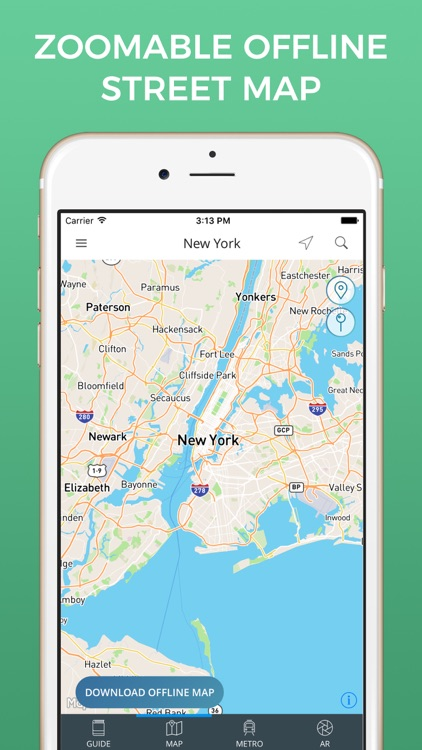 Map New York Offline.New York City Travel Guide With Offline Street Map By Nicolas Martinez