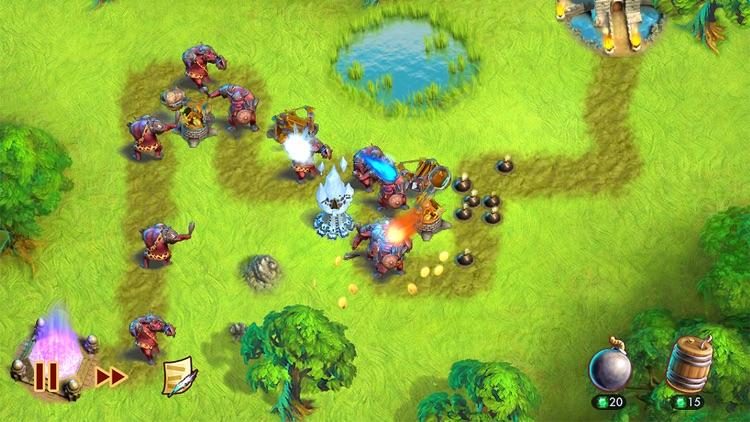 Towers N' Trolls HD screenshot-3