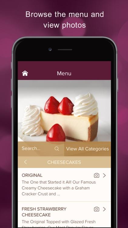 The Cheesecake Factory® CakePay® screenshot-4