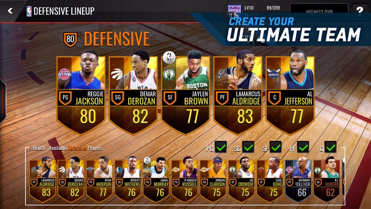 NBA LIVE Mobile Basketball screenshot-3