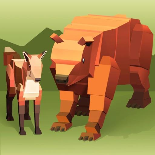My Virtual Zoo Craft Simulator 3D iOS App