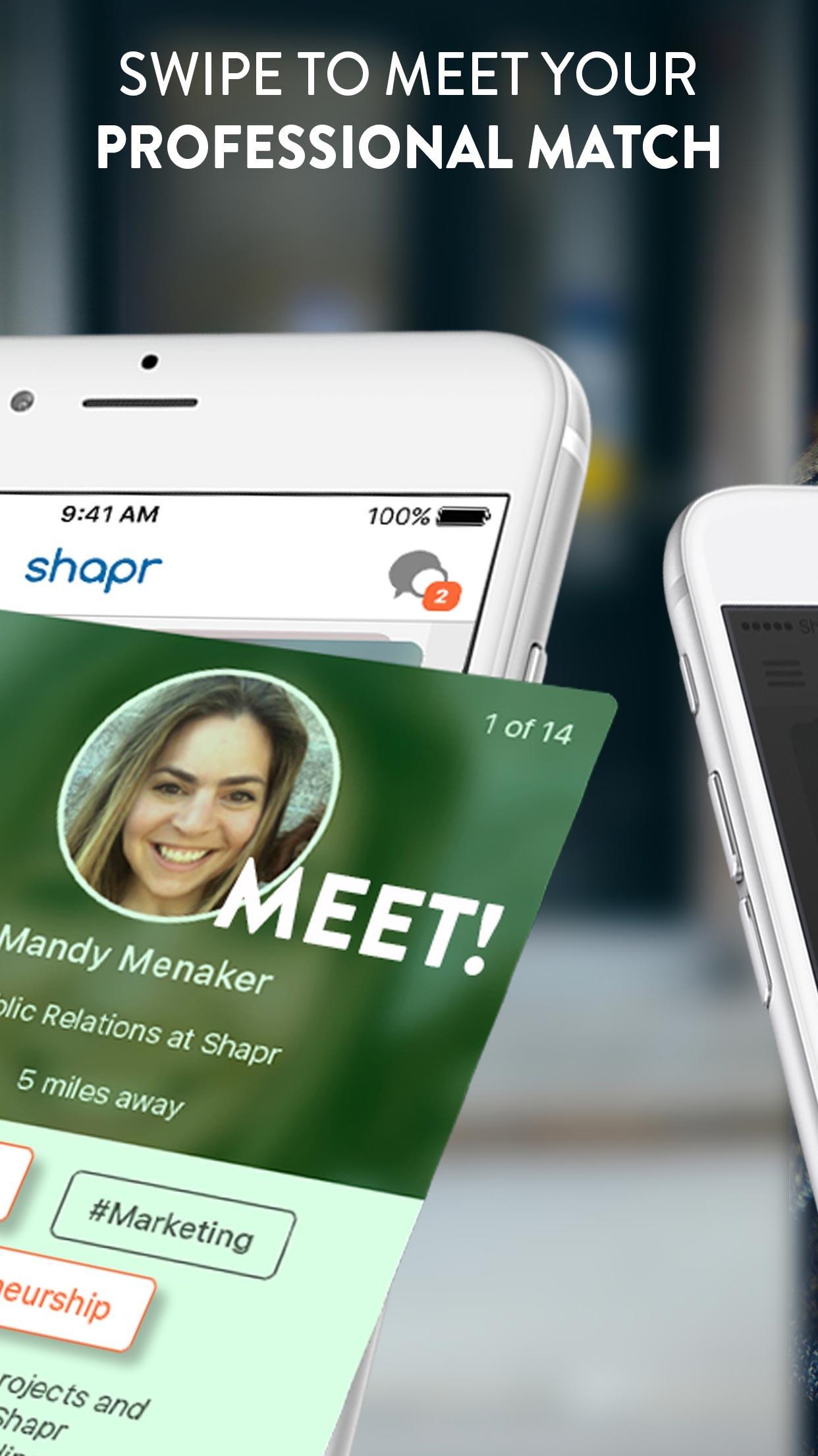 Shapr | Meaningful Networking Screenshot