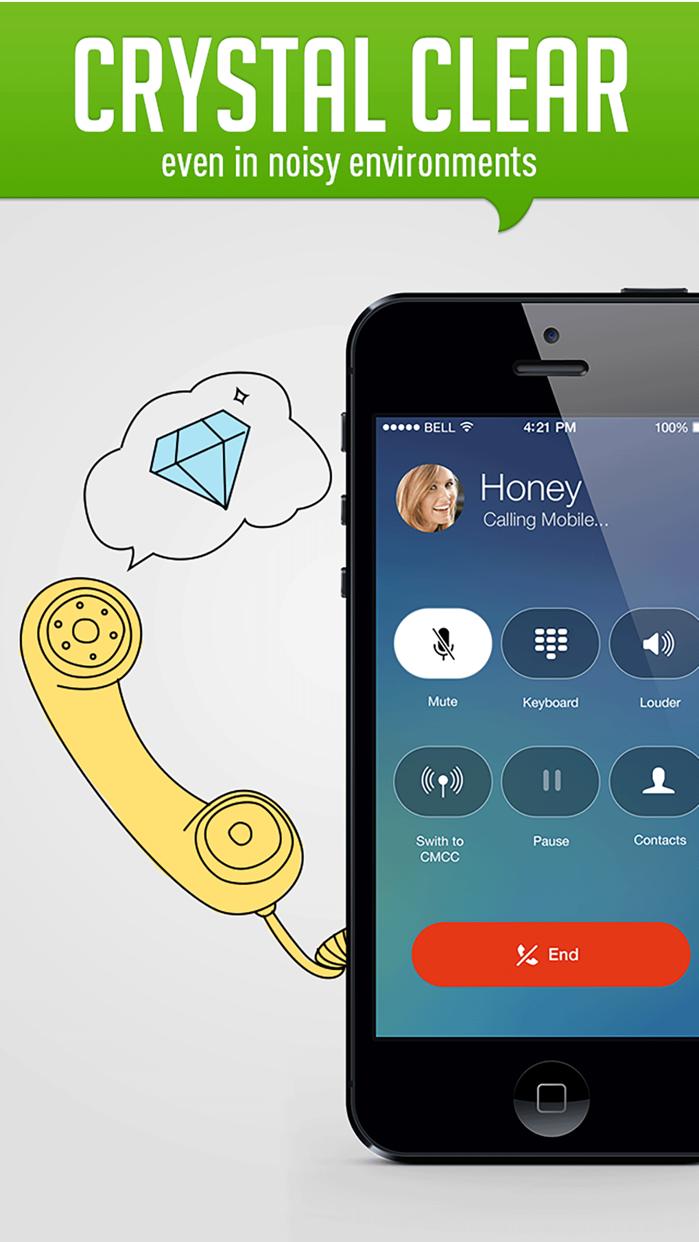 HiTalk - Phone Calls App, Text Screenshot