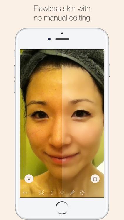 CreamCam+ auto selfie enhancer