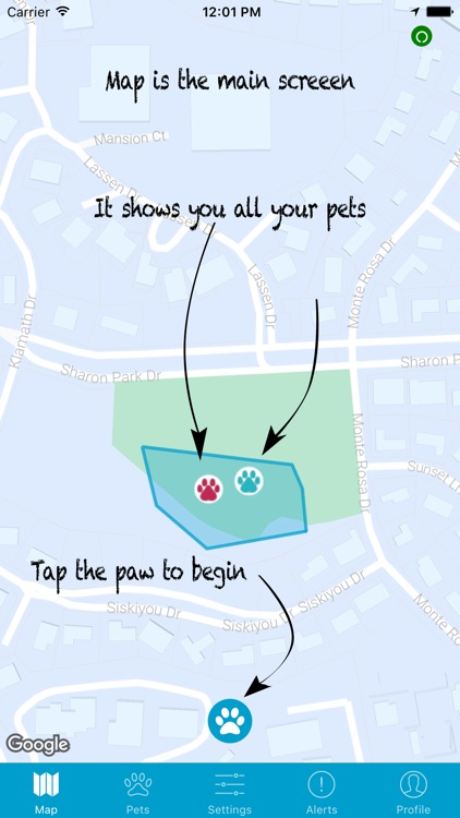 Gibi Pet GPS Tracking Service