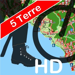 Trails of Cinque Terre HD- GPS and Maps for Hiking