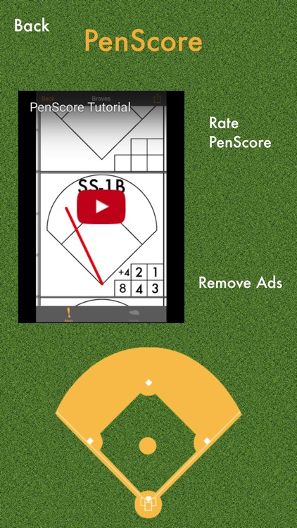 PenScore : Baseball Scorecard / Scorekeeping screenshot-4
