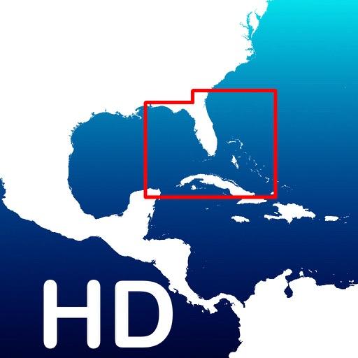Aqua Map Florida - GPS Offline Nautical Charts