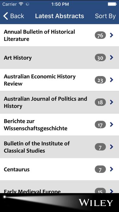 History Spotlight screenshot two