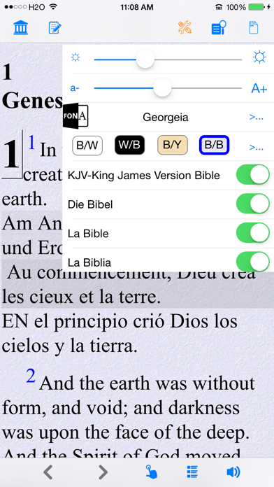 Holy Bible Kjv (king James Version) review screenshots