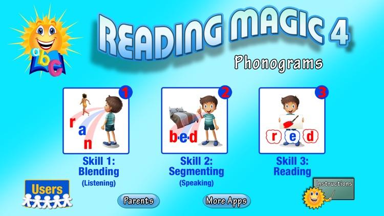 READING MAGIC 4-Phonograms and Digraphs