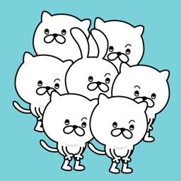 Pretty kitten sticker 6
