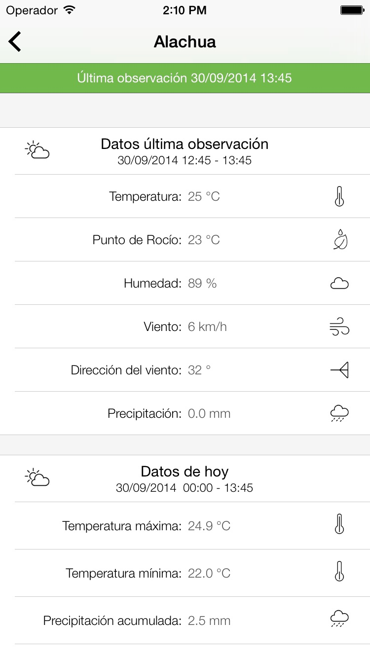 AgroClimate Screenshot