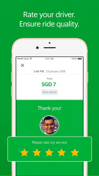 Grab - Ride Hailing App screenshot-4